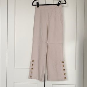 Urban outfitters linen kick flare pant